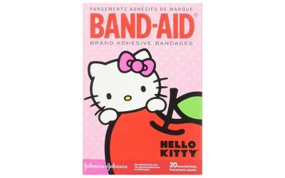why go for a plain band-aid? Todddler girls love these pink Hello Kitty bandaid. Get rid of the boo boos quick!!! :-)