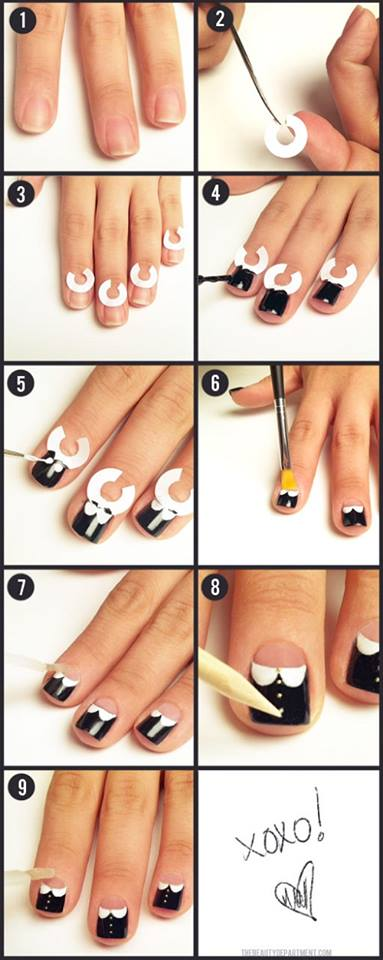 Step By Nail Art Picture Tutorial Best And Easy Designs To Try 21
