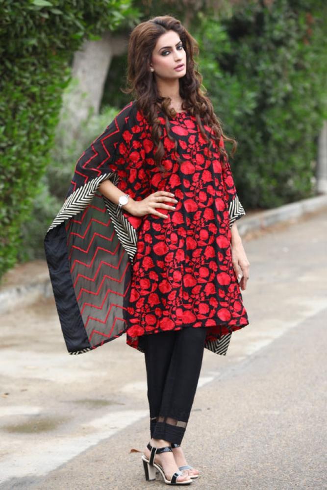 Latest Women Kurta Styles Designs 2018-19 by Change Kurta Collection (7)