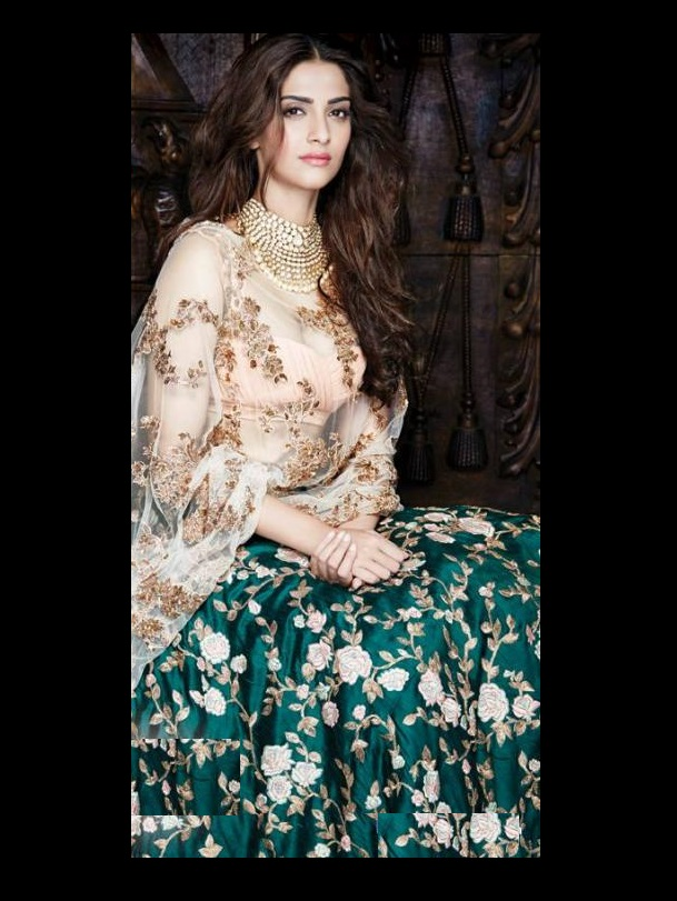sonam-kapoor-floral-lehenga-indian-celebrity-inspired-looks-2