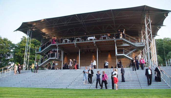 Snell Associates Garsington Opera Pavilio