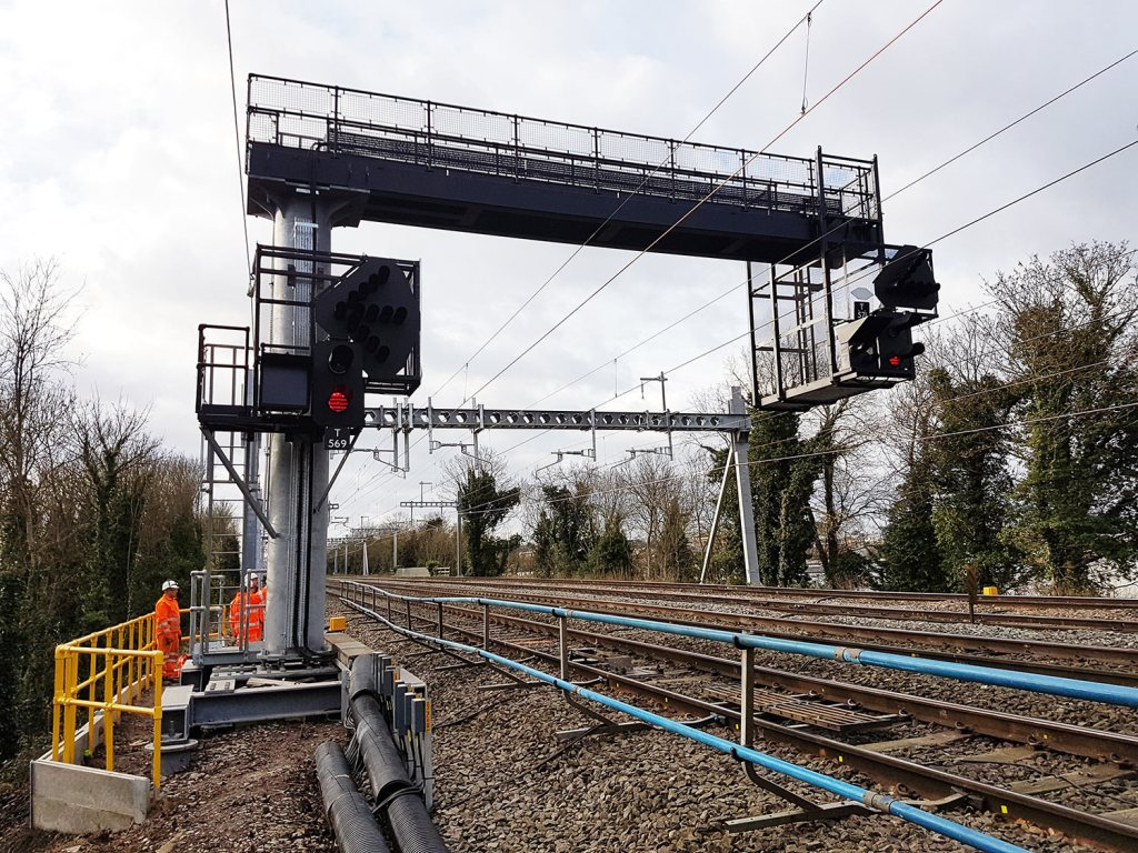 Crossrail West Gantries - Global Rail Construction