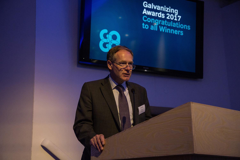 Ed Byrne - Galvanizers Association Chairman