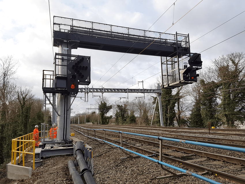 Global Rail Construction, West-Gantries