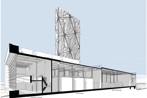 Greenwich Low Carbon Energy Centre, London - C.F. Møller Architects