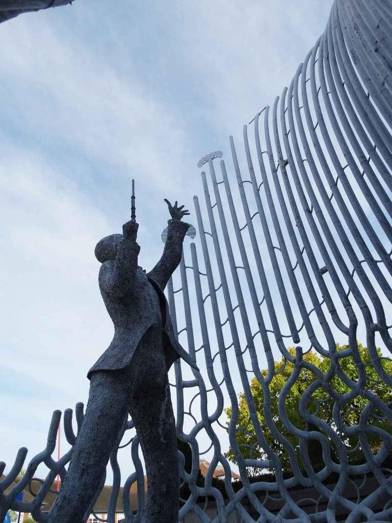 Galvanized Steel Sculpture