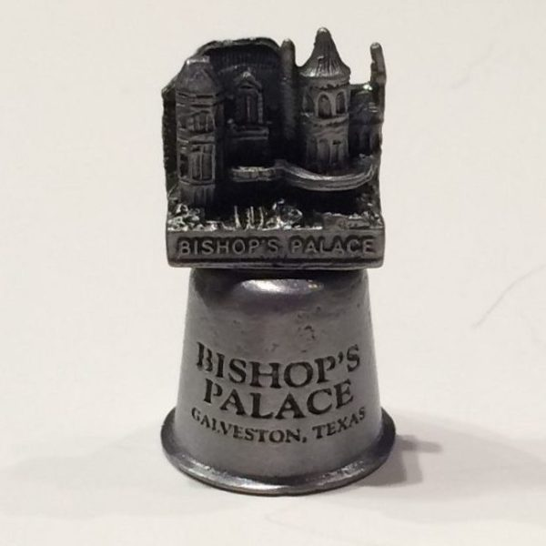 Bishop's Palace Pewter Thimble