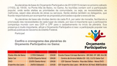 BOLETIM INFORMATIVO DO GAMA MARÇO 2012