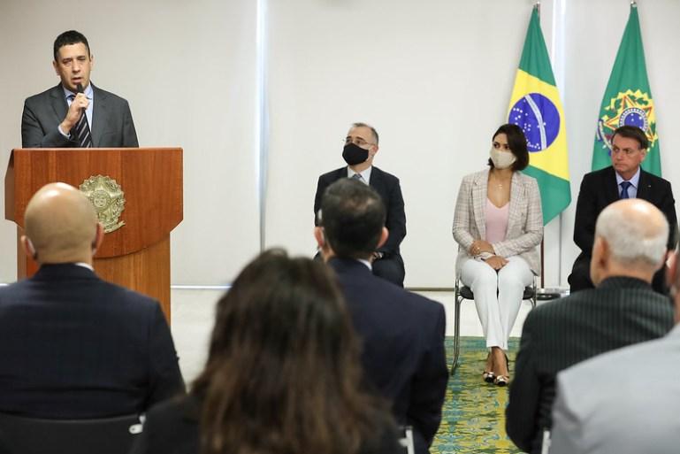 Cláudio Panoeiro toma posse na Secretaria Nacional de Justiça