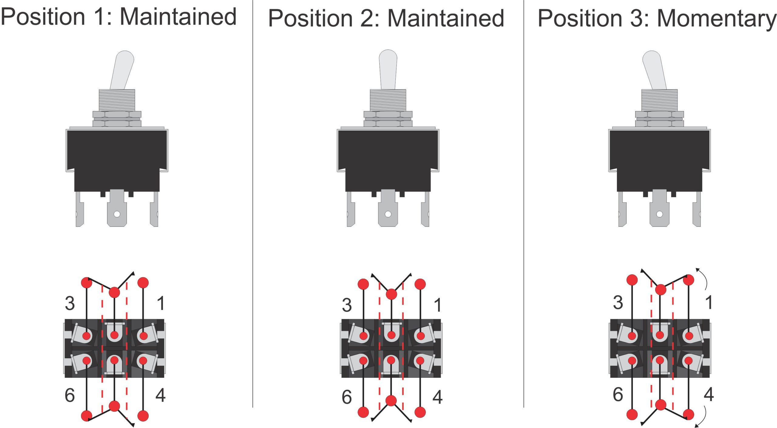 2 Pole Toggle Switch Wiring Diagram Parts Wiring Diagram