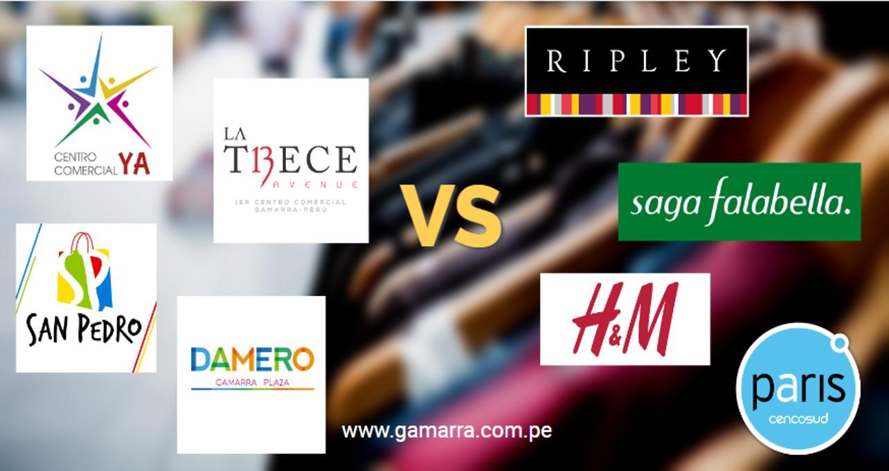 Ripley, Saga Falabella, Paris y H&M en Gamarra ¿Qué Hacemos?