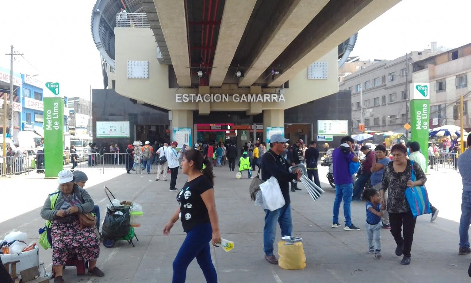 Línea 1: Más de 40 mil pasajeros diarios llegarán a Gamarra por la Navidad