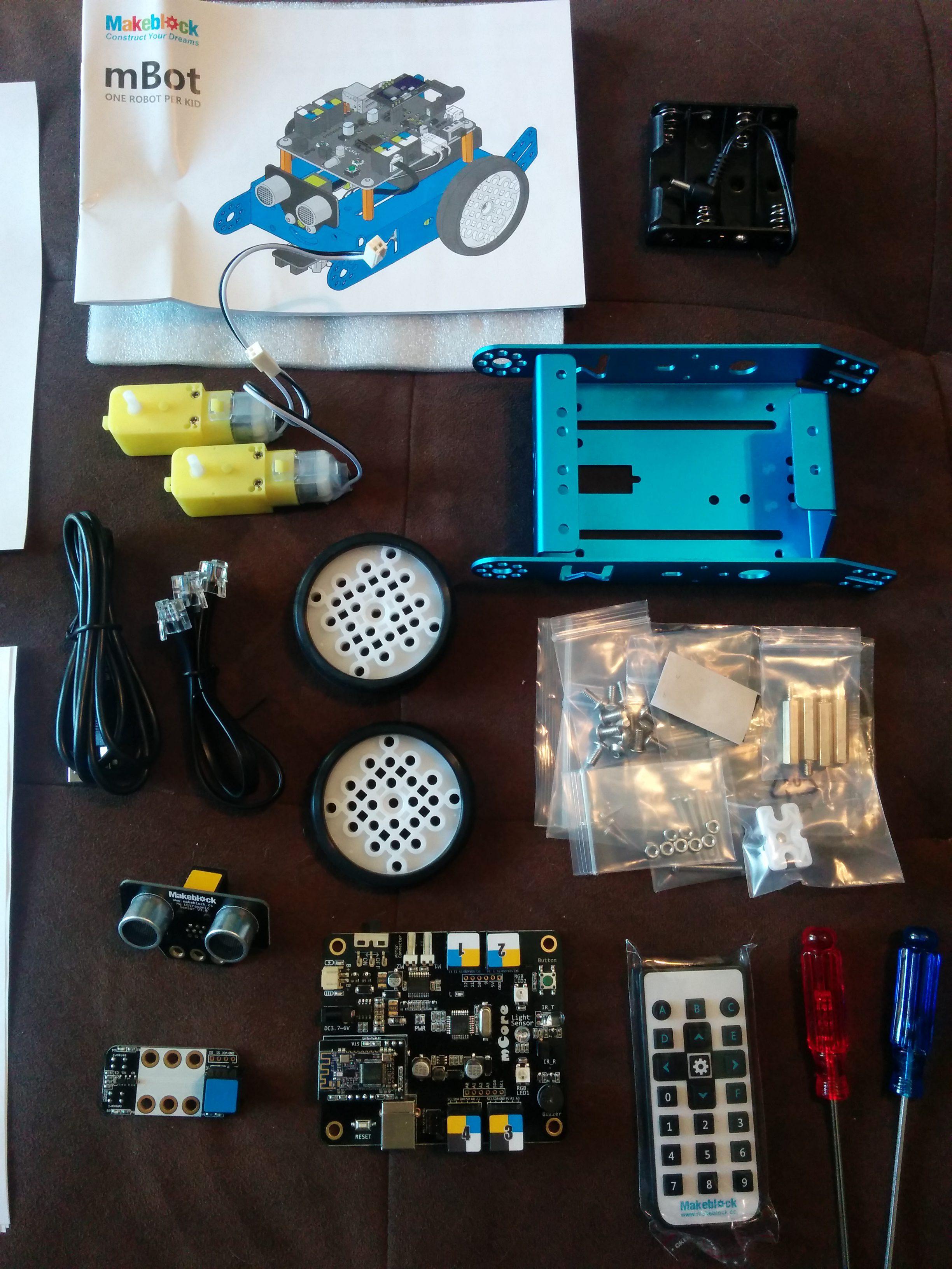 Makeblock mBot Educational Robot Kit - Gambit Magazine