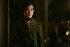 "HANNIBAL -- ""Dolce"" Episode 306 -- Pictured: Tao Okamoto as Chiyoh -- (Photo by: Ian Watson/NBC)"