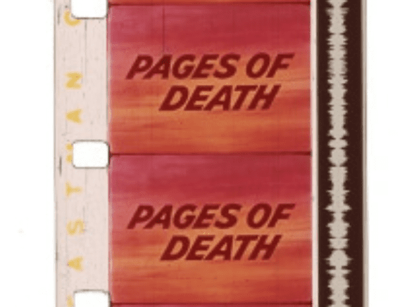 pages of death