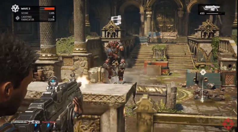 Check out 10 waves of Gears of War 4 Horde mode - Gambit