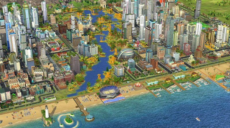 SimCity BuildIt Adds Lakes, Rivers, and Forests - Oh My