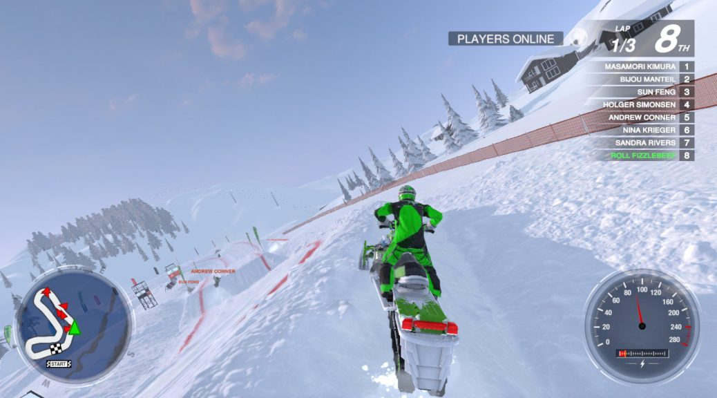 Snow Moto Racing Freedom - 4