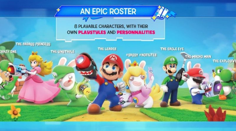 Mario + Rabbids Kingdom Battle - 0