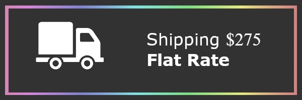 Shipping Cost $275 Flat Rate
