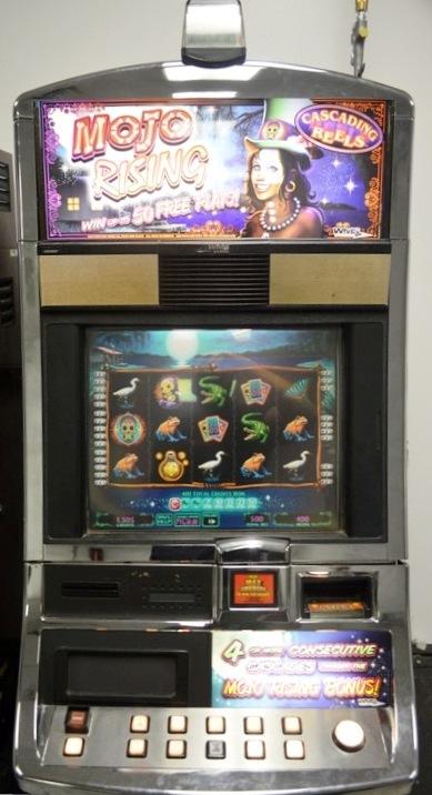 Mojo Rising Williams Bluebird 1 Slot Machine by WMS for sale