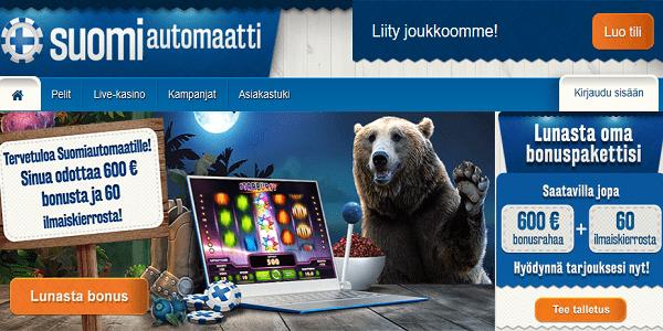 suomi automaatti Parasta Suomalaiset kasinot 2018 – Turvallinen kasino Bonukset.