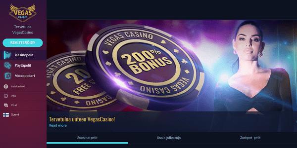 vegas casino Parasta Suomalaiset Kasinot – Turvallinen Kasino Bonukset