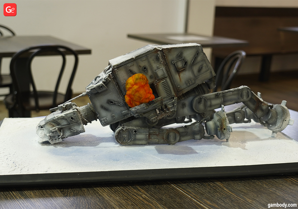 3D printed action figure