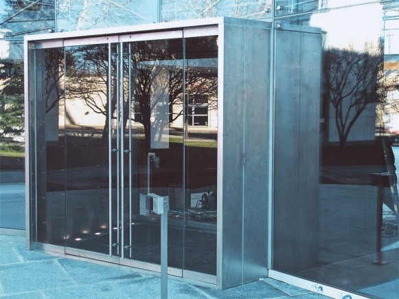 Frameless Glass Door System - Project 2