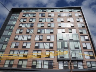 Curtain Wall - TownePlace Suites by Marriott LIC