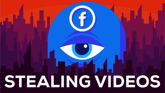 Facebook is Stealing Billions of Views - Facebook ist eine Datenkrake