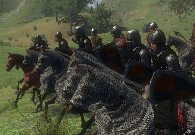 Mount-Blade-Warband-Reiter-Armee