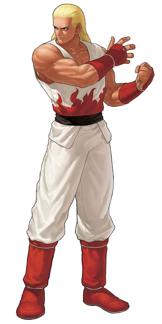 Andy Bogard Official Render from King Of Fighters XII