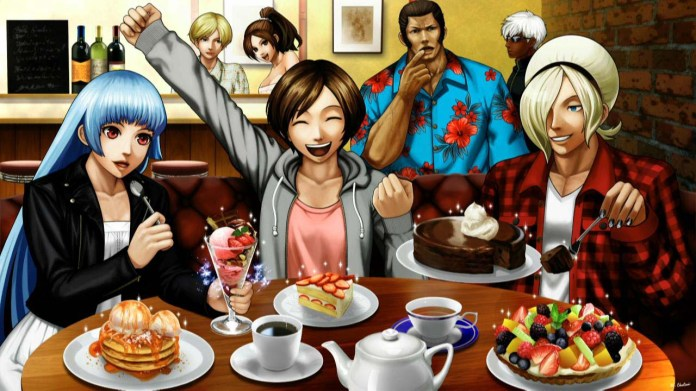 King Of Fighters Xiii Kof13 Official Artworks From The Console Versions