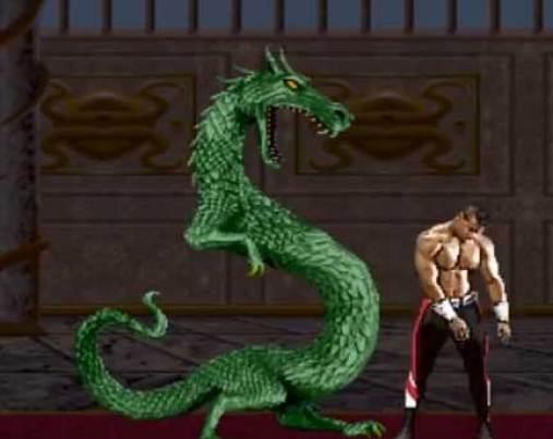 "Image result for Liu Kang's Dragon  ""Mortal Kombat 2"