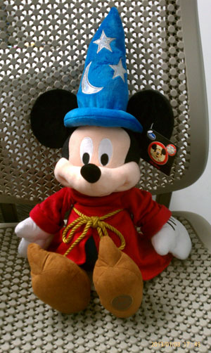 mickey mouse at Blu Maya