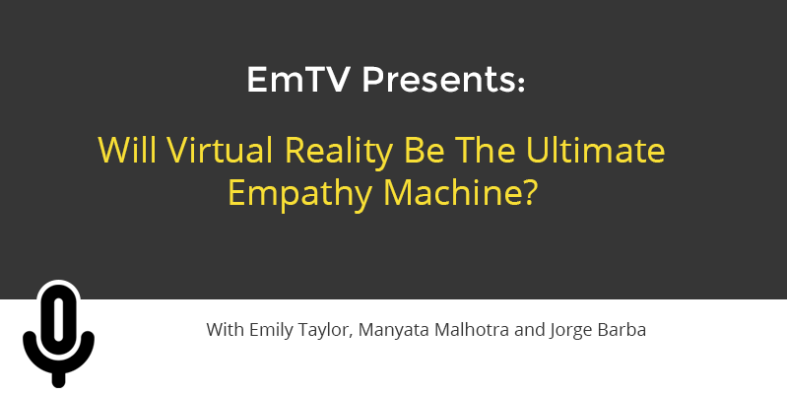will virtual reality become the ultimate empathy machine