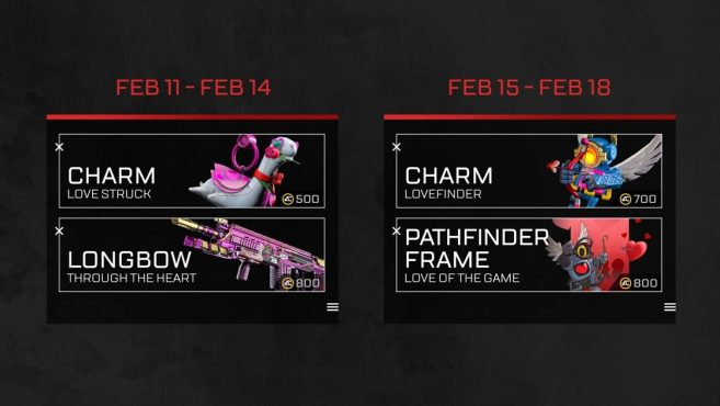Apex Legend's Valentine's Day