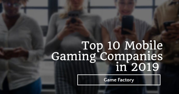 top gaming companies
