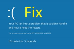 How to Fix BSOD Dpc Watchdog Violation Error 0x00000133