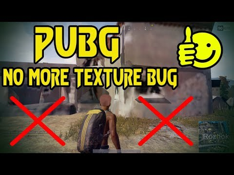 PUBG Textures Not Loading Fix PlayerUnknown's Battlegrounds | Game