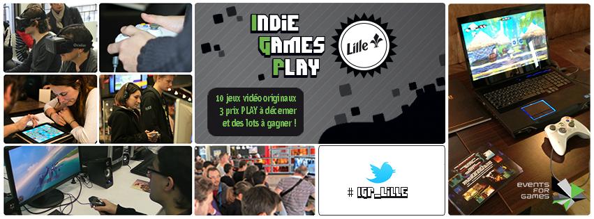 Indie Games Play : les jeux présentés