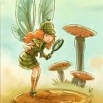 """""""Goblins Drool, Fairies Rule!"""" fairy - Penny Clue"""