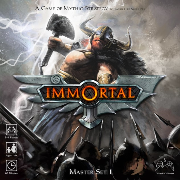 Immortal - card game of mythic strategy - cover image