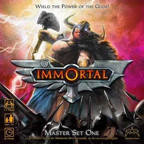Immortal board game cover image