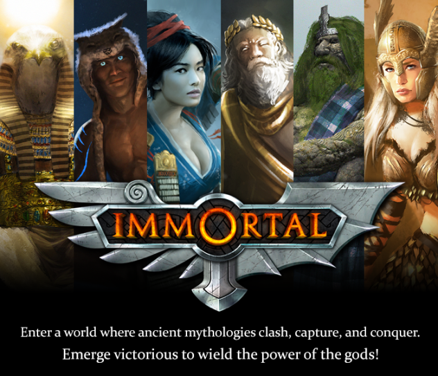 Immortal - a strategy game of warring mythologies