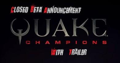 Quake champions game shooter fps closed beta trailer