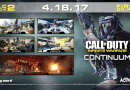 Call of du ty infinite warfare continuum dlc maps