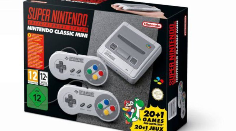 Super Nintendo Mini nintendo super NES sortie arrive jeux