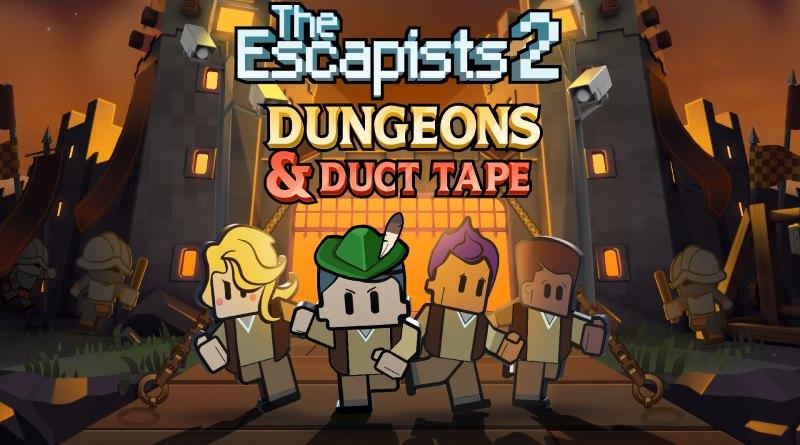 The Escapists 2, Dungeons and duct tape : Soluce complète du DLC et trophées